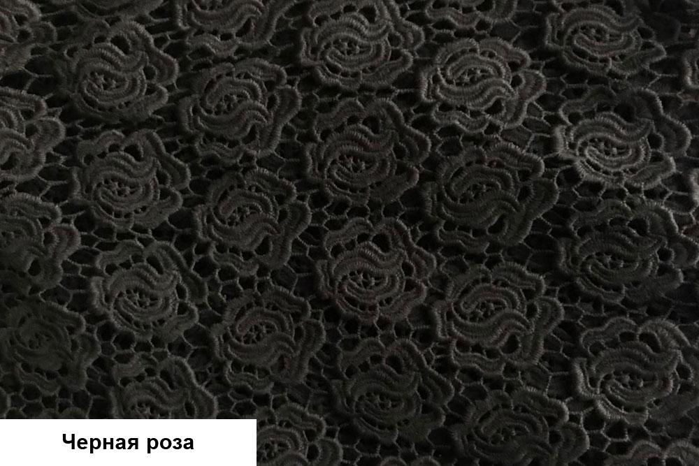 Черная ткань для платья купить резинка с люрексом