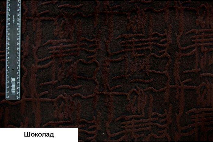 Ткань - Шерсть ворсовая флок принт