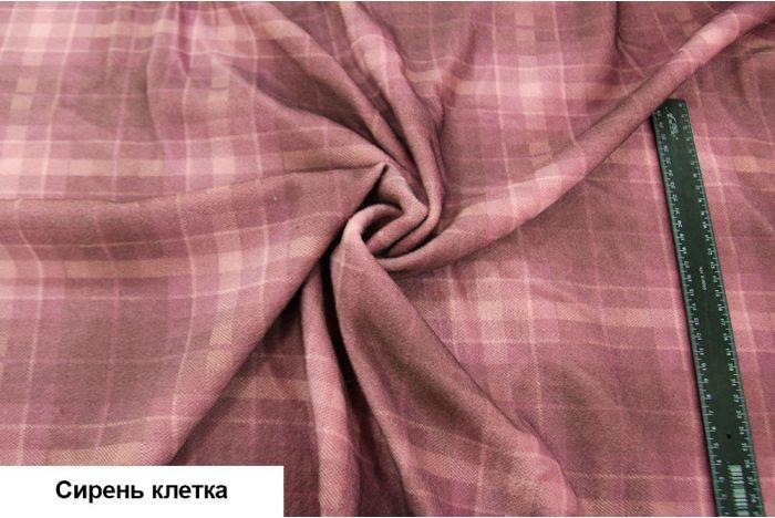 Ткань - Шерсть ворсовая принт